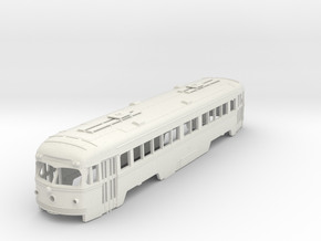 O Scale 1:48  Double-End PCC Red Arrow Trolley BOD in White Natural Versatile Plastic