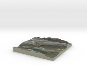 Terrafab generated model Thu Dec 11 2014 01:13:06  in Full Color Sandstone