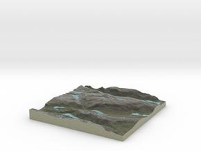 Terrafab generated model Thu Dec 11 2014 01:13:06  in Full Color Sandstone