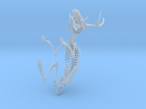 Jackalope Skeleton in Frosted Ultra Detail