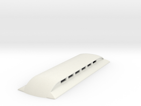 Sn2 replacement roof for short coaches  in White Natural Versatile Plastic