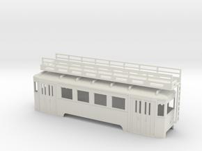 nt Wiener Stadtbahn Arbeitsbeiwagen mit Gerüst in White Natural Versatile Plastic
