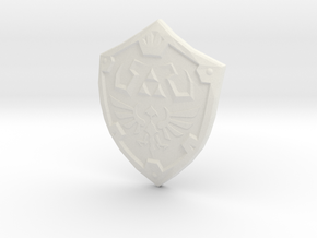 Hylian Shield in White Strong & Flexible