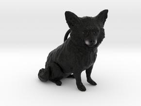 Custom Dog Ornament - Sally in Full Color Sandstone