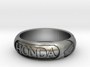 "Honda Tire Size R 1-2 - 59 - 2"" 7/16 in Raw Silver"