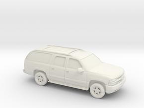 1/87 2000 Chevrolet Suburban  in White Natural Versatile Plastic