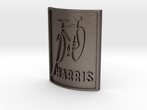 PHARRIS in Polished Bronzed Silver Steel