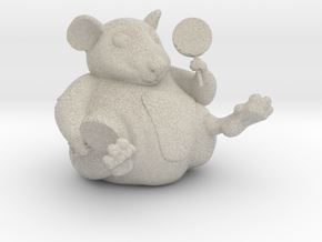 The Candy Mouse Color Version in Natural Sandstone