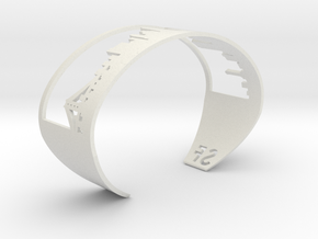 Bracelet Sf Skyline in White Natural Versatile Plastic