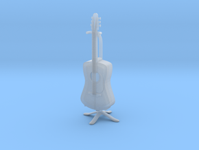 Guitar in Smooth Fine Detail Plastic