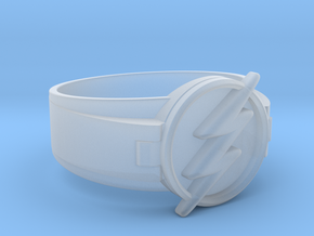 Flash Ring size 10 20mm  in Smooth Fine Detail Plastic