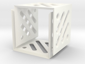Legend Cubes Case II in White Processed Versatile Plastic