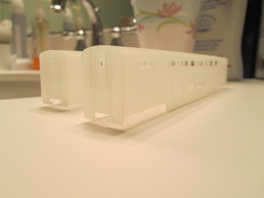 n scale Amtrak Surfliner Coach (trailer) in Smooth Fine Detail Plastic