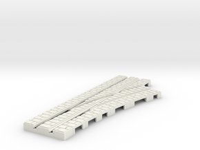 P-9st-right-point-1a in White Natural Versatile Plastic