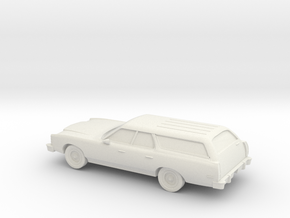 1/87 1977 Ford Country-Squire in White Strong & Flexible