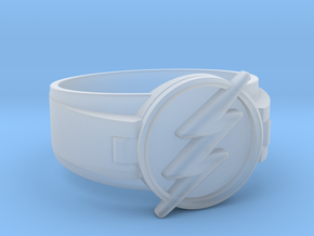 Flash Ring size 11 20.68mm  in Smooth Fine Detail Plastic