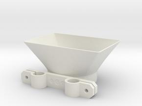 Lens Hood for Panasonic GH4 12-35mm Lumix Lens wit in White Natural Versatile Plastic
