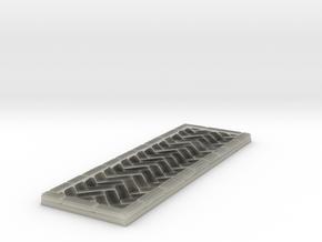 Brick's floor 1x3 in Transparent Acrylic