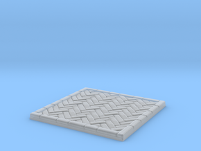 Brick's floor 2x2 in Smooth Fine Detail Plastic