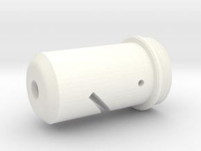 ANH Blaster Tip in White Processed Versatile Plastic