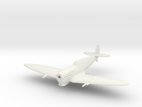 Spitfire MkVC Tropical in White Natural Versatile Plastic: 1:144