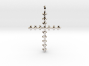 CROSS Cubism Jewelry Pendant in Silver | Gold in Platinum