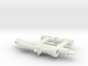 Bravestarr Neutra-Laser in White Natural Versatile Plastic