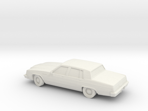 1/87 1980 Buick Elektra in White Natural Versatile Plastic