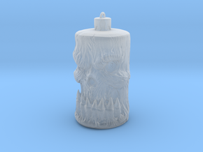 Skull Ornament in Smooth Fine Detail Plastic