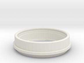 240ZHorn6 in White Natural Versatile Plastic