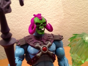 Skeletor Reborn in Purple Processed Versatile Plastic