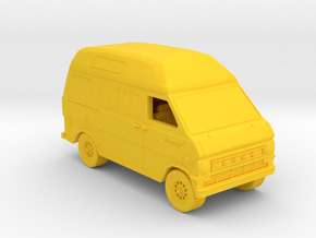 Ford Van Gen 2 in Yellow Strong & Flexible Polished