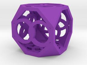 Dice94 in Purple Processed Versatile Plastic