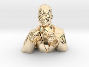 Martin Luther King Figurine  in 14K Yellow Gold