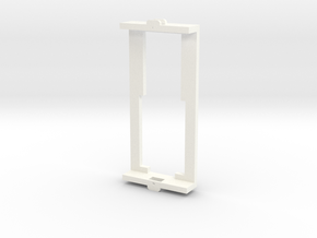 Bachmann frame adapter in White Processed Versatile Plastic
