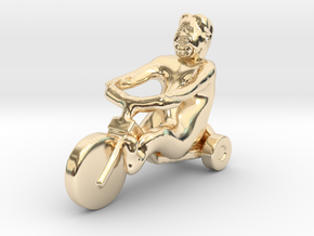 I want to ride Un Bicycle in 14K Gold