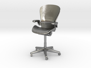 Miniature 1:24 Aeron Chair in Natural Silver