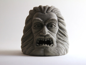 Zardoz Head in Full Color Sandstone