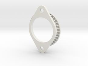 Intake Trumpet AE101 12 mm in White Natural Versatile Plastic
