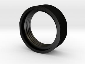 Tippmann Thread Spacer in Matte Black Steel