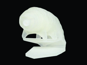 Tardigrade (Water Bear)  in Smooth Fine Detail Plastic