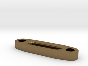 Hawse Fairlead Rounded in Natural Bronze