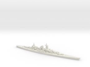 Scharnhorst (15in Refit) 1/1800 in White Strong & Flexible