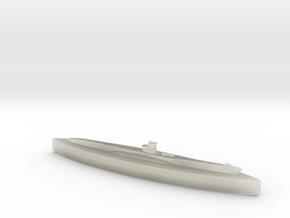 U-48 (Type VIIB U-Boat) 1/1800 in Transparent Acrylic