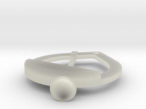 Clarinet emblem in Transparent Acrylic