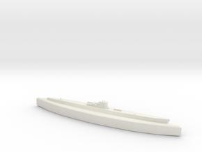 U-505 (Type IXC U-Boat) 1:1800 in White Natural Versatile Plastic