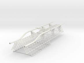 Spine Upper Aft V0.8 (repaired) in White Natural Versatile Plastic