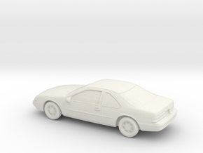 1/87 1990 Ford Thunderbird in White Natural Versatile Plastic