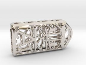 Cat Lantern 1: Tritium (Silver/Brass/Plastic) in Platinum