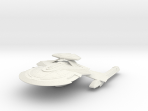 Kongo Class CruiserII (with Weapon Pod) in White Strong & Flexible